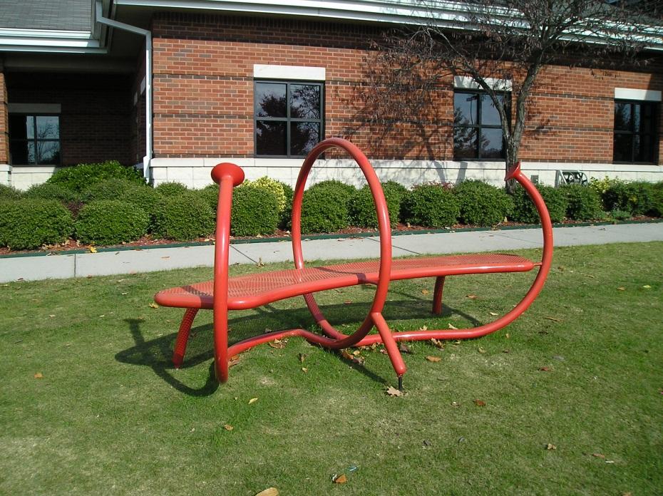 Red Whisper Bench