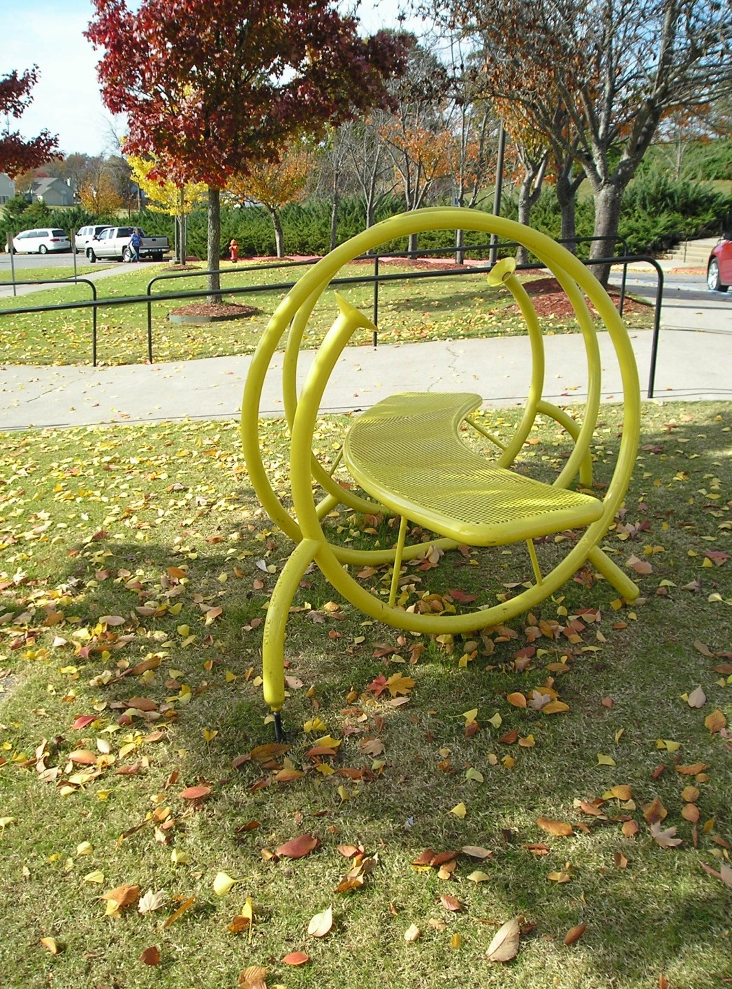Yellow Whisper Bench