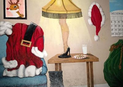 leg lamp christmas