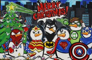 super hero christmas