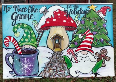 no place like gnome for the holidays