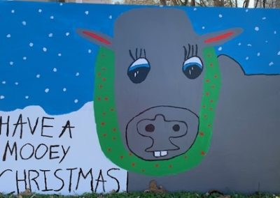 have a mooey christmas